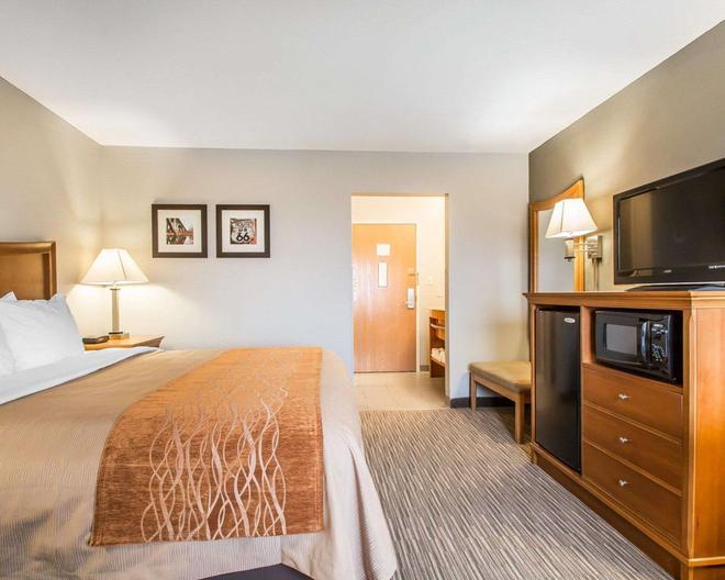 南斯普林菲爾德凱富酒店 - 斯普林菲爾德 - 斯普林菲爾德 - 臥室