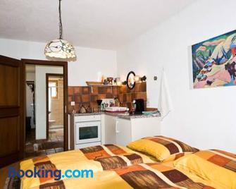 Studio in Chasa Quirin - Zernez - Bedroom