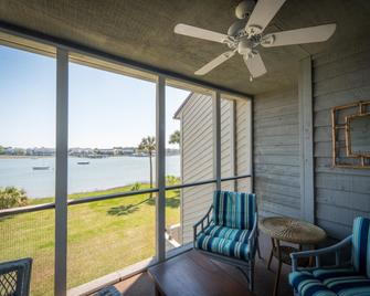 Mariners Cay 15 2 Bedroom Holiday Home By My Ocean Rentals - Folly Beach - Balcony