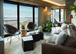 1 Hotel Brooklyn Bridge - Brooklyn - Sala de estar