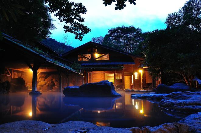 Yamabiko Ryokan - Aso - Rakennus