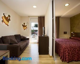 Hotel La Perla D'Olot - Olot - Bedroom
