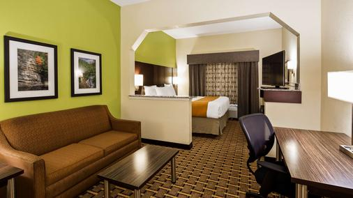 Best Western Knoxville Suites - Downtown - Knoxville - Makuuhuone
