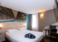 Brit Hotel La Rochelle Périgny - La Rochelle - Slaapkamer