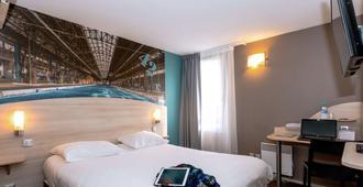 Brit Hotel La Rochelle Périgny - La Rochelle - Makuuhuone