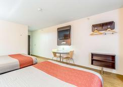 印第安納波利斯 6 號汽車旅館 - 印第安那波里 - 印第安納波利斯 - 臥室