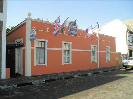 The Secret Garden Guesthouse - Swakopmund - Rakennus