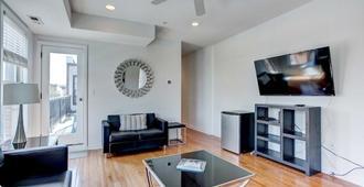 Stunning 3bd/2.5ba Loft Near Conv Center&harbor - Baltimore - Sala de estar