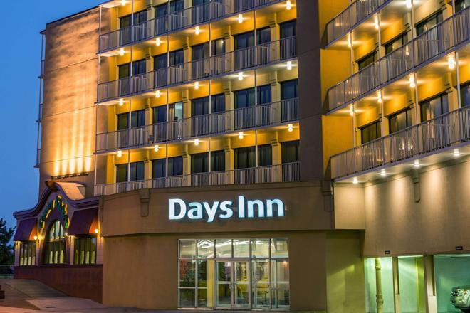 Days Inn by Wyndham Atlantic City Oceanfront-Boardwalk - Atlantic City - Κτίριο