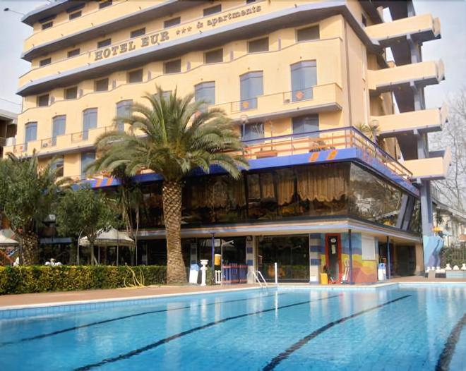 Hotel Eur - Camaiore - Toà nhà