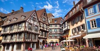 Hotel Saint-Martin - Colmar - Cảnh ngoài trời