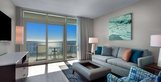 Ocean 22 by Hilton Grand Vacations - Myrtle Beach - Living room