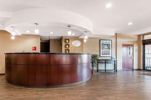 Comfort Suites Tuscaloosa-Univ - Tuscaloosa - Vastaanotto