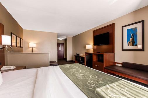 Comfort Suites Tuscaloosa-Univ - Tuscaloosa - Makuuhuone