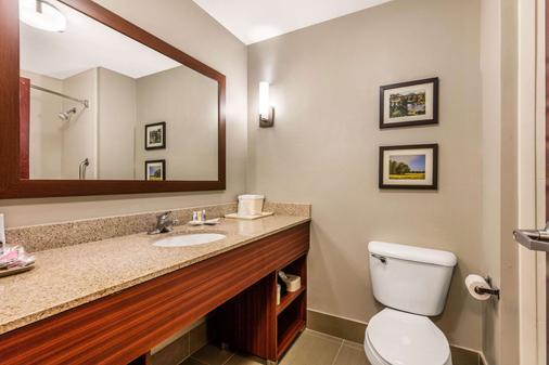Comfort Suites Tuscaloosa-Univ - Tuscaloosa - Kylpyhuone
