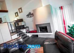 Feriendomizil Haus am See - Biersdorf - Sala de estar