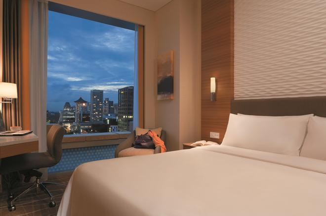 Hotel Jen Orchardgateway Singapore by Shangri-La - Singapore - Phòng ngủ