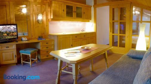 Pension Alpenhof - Obsteig - Dining room