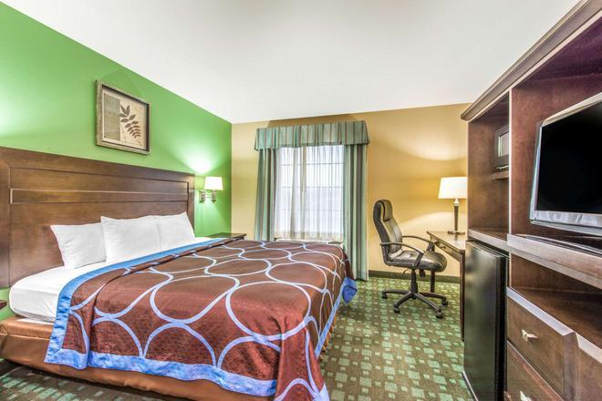 Super 8 by Wyndham Lake Charles/Sulphur - Lake Charles - Bedroom