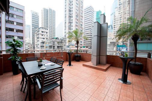 Hotel Mk Newly-Renovated - Hongkong - Parveke