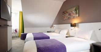 Hotel Restaurant - Les Maraichers - Colmar - Bedroom