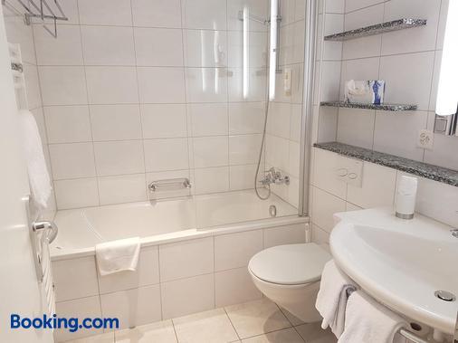 Hotel Concordia Davos - Davos - Bathroom
