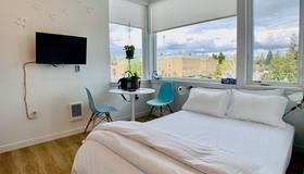 Modern Roosevelt Urban Studio - Seattle - Soveværelse