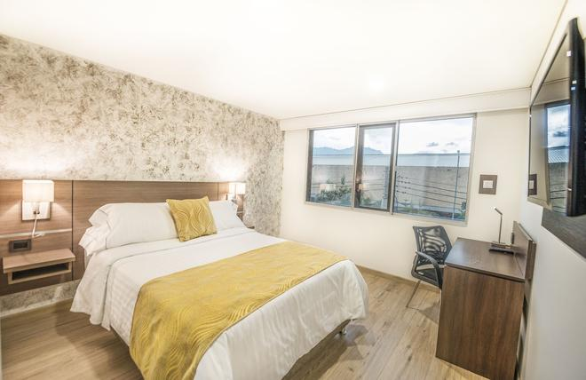 Hotel Grand Plaza Corferias - Bogotá - Bedroom
