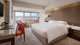 台北君悅酒店 - 台北 - 臥室