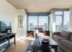 Downtown Seattle 3rd Ave Apartments - Seattle - Sala de estar