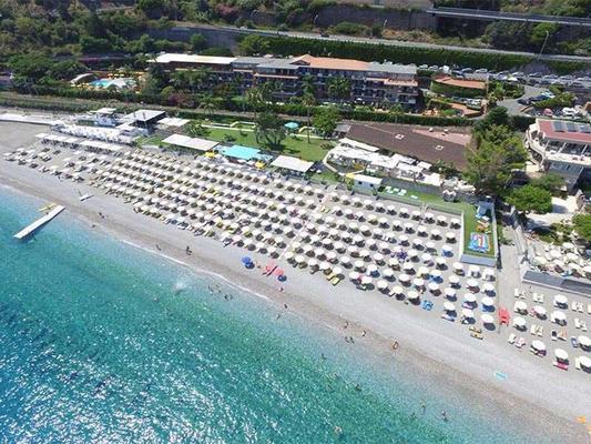 Hotel Caparena - Taormina - Beach