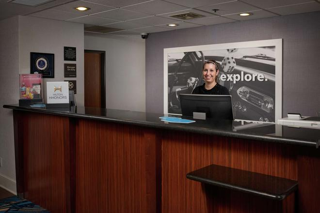 Hampton Inn Youngstown-West/I-80 - Youngstown - Vastaanotto