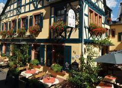 Historisches Hotel Weinrestaurant Zum Grünen Kranz - Rüdesheim am Rhein - Gebäude