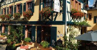 Historisches Hotel Weinrestaurant Zum Grünen Kranz - Rüdesheim am Rhein - Bâtiment