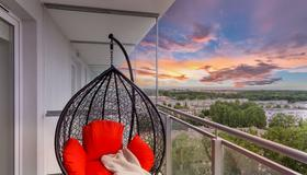 Elite Apartments Marine Cztery Oceany - Danzig - Balkon