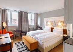 Hotel Halm Konstanz - Kostnice - Bedroom