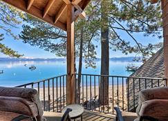 West Shore Lakefront! Walk to Homewood! - Homewood - Balcony