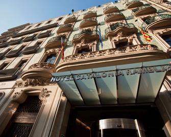 Catalonia Ramblas - Barcelona - Building