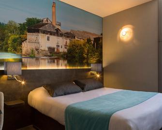 The Originals City, Hôtel Le Boeuf Rouge, Limoges (Inter-Hotel) - Saint-Junien - Ložnice