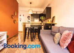 Faro Central - Holiday Apartments - Faro - Ruang tamu