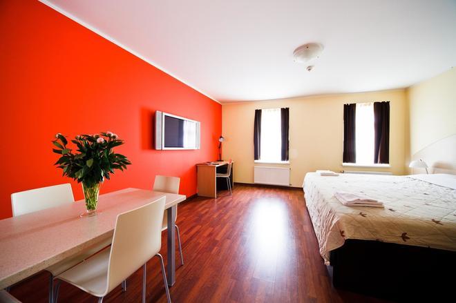 Aparthotel Autosole - Ρίγα - Κρεβατοκάμαρα