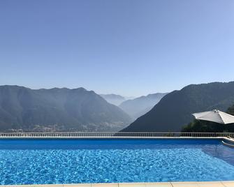 Hotel Paradiso Como - Brunate - Басейн