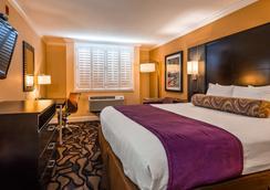 貝斯特韋斯特普拉斯機場廣場酒店 - 聖荷西 - 聖何塞 - 臥室