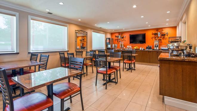 貝斯特韋斯特普拉斯機場廣場酒店 - 聖荷西 - 聖荷西 - 餐廳
