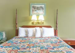 Super 8 by Wyndham Kingsport /I-81 - Kingsport - Makuuhuone