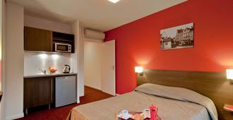 Aparthotel Adagio access Poitiers - Poitiers - Schlafzimmer
