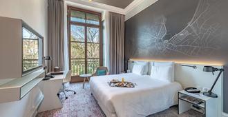 Hotel Metropole Geneve - Ginevra - Camera da letto