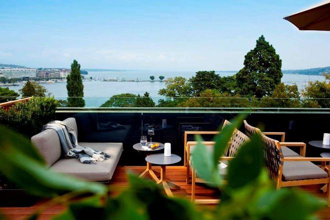 Hotel Metropole Geneve - Geneve - Parveke