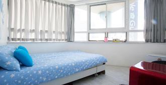 蘋果旅館 - 釜山 - 臥室