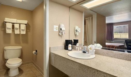 Super 8 by Wyndham San Antonio Downtown / Alamo - San Antonio - Bathroom